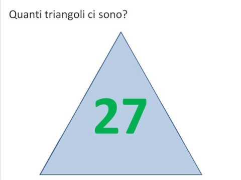 quanti triangoli ci sono youtube