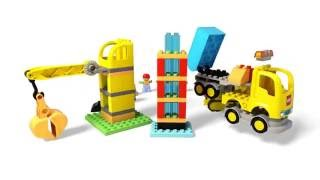 Big Construction Site - LEGO DUPLO - 10813  - Product Animation