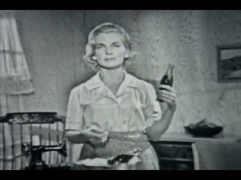 Coke keeps you thin!  (1961 Coke commercial)