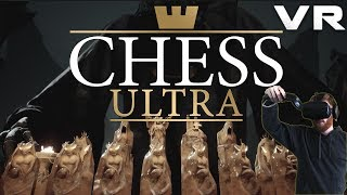 Chess Ultra: VR Chess in beautiful environments - Gameplay on HTC Vive