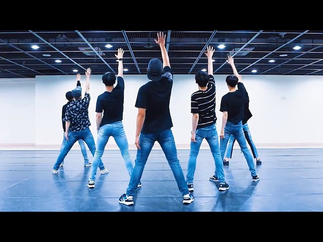 MONSTA X 'SHINE FOREVER' mirrored Dance Practice
