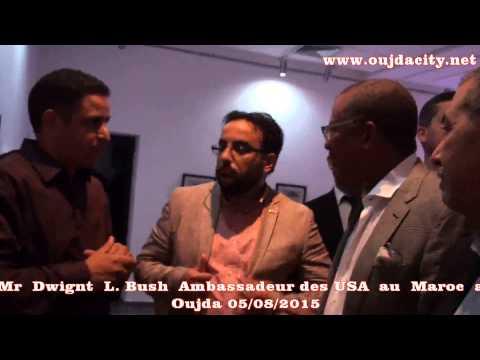 Dwight L. Buch, L'ambassadeur des USA au Maroc  dans une visite a Oujda
