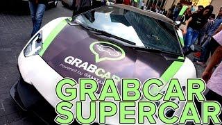 Tim Tech In Asia mencoba pengalaman menaiki supercar Lamborghini le...