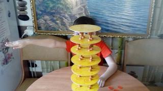 Игра,сырная башня до небес!