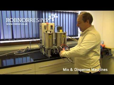 Robnor Resins Ltd Mix & Dispense Machines