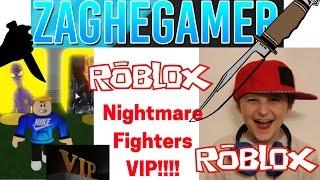Roblox Nightmare Fighters Episode 2 VIP Version!!!!!