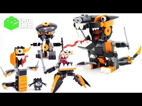LEGO Mixels Series 9 Nindjas MAX  41575 + 41576 + 41577 + MAX-  LEGO Speed Build