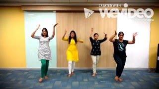dance on laloo dharwaja lashkar song by woomania team