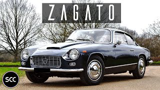 LANCIA FLAMINIA SUPER SPORT ZAGATO 2.8 3C 1967 - Test drive in top gear - Engine sound | SCC TV