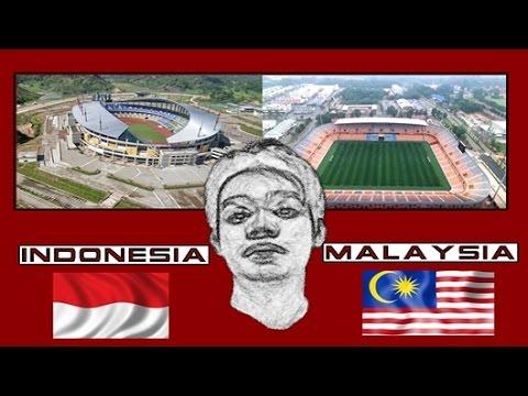 Stadion Indonesia Vs Stadium Malaysia (Update)