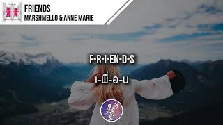 แปลเพลง Friends - Marshmello & Anne Marie