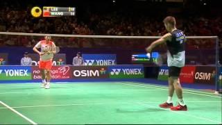 [Highlights] 2013 All England MS R16 Lee Chong Wei Vs Wang Zheng Ming