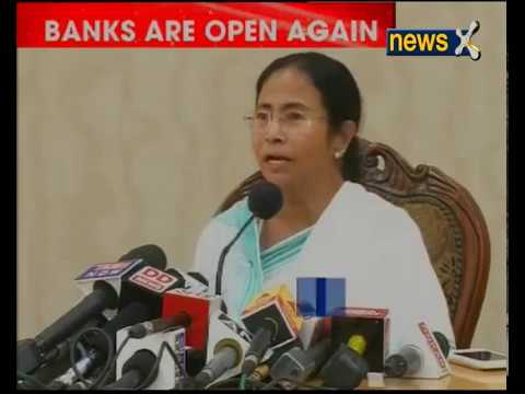Bengal CM Mamata Banerjee addresses media over demonetisation