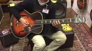 【動画】古き良き時代を彷彿させるアーチトップギター!EPIHONE新製品入...