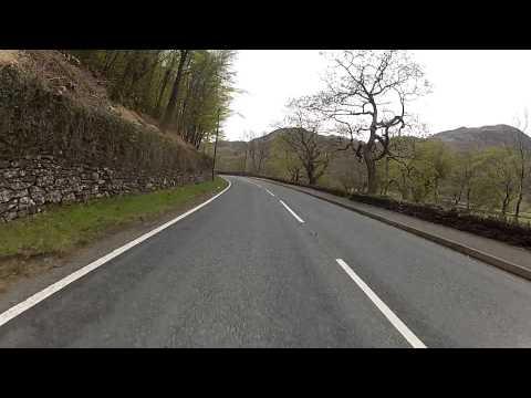 A4085: Llyn Cwellyn to Beddgelert, Gwynedd, North Wales