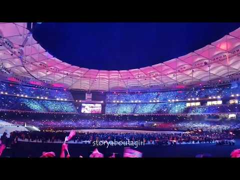 170830 Closing Ceremony 29th SEA Games 2017 | Ella - Standing In The Eyes Of The World