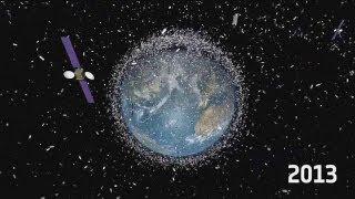 Uzay çöplüğünü temizleme çalışmaları - science