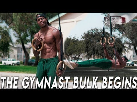 MY DIET AND TRAINING TO BUILD LEAN MUSCLE WITH GYMNASTICS