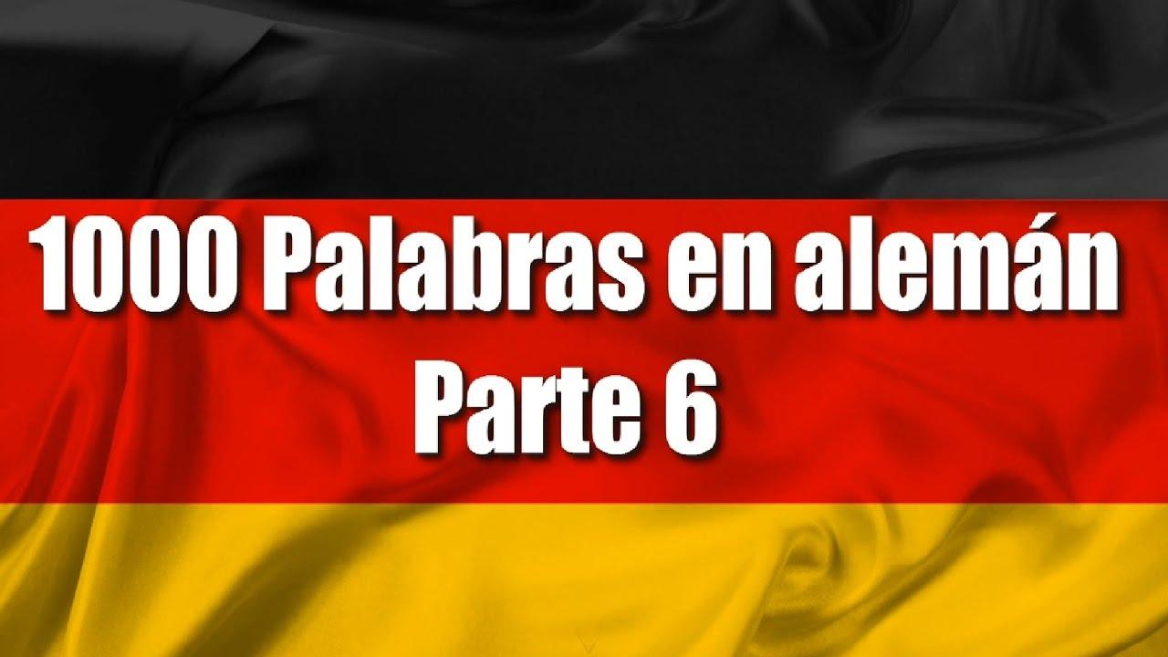 Cursos De Alemán 1000 Palabras En Alemánfrases Parte 6