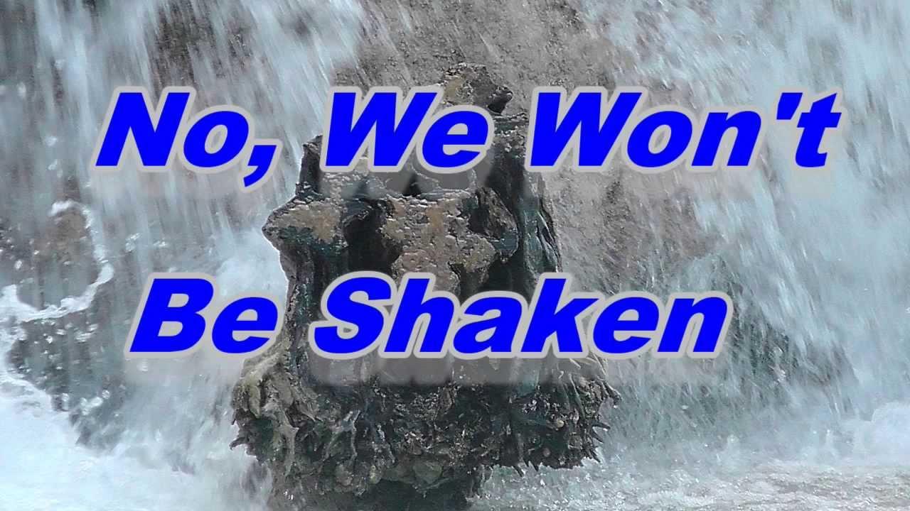We Won T Be Shaken By Building 429 Lyrics Youtube