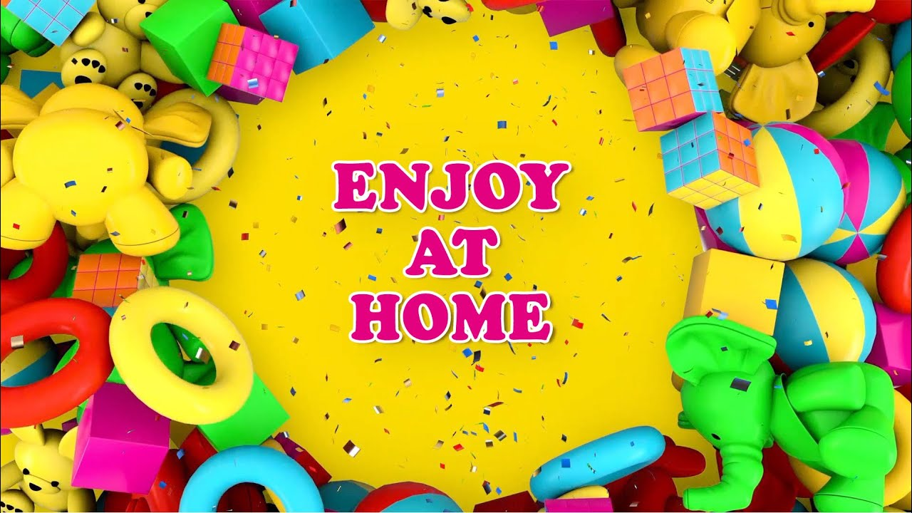 STAY at HOME→ENJOY at HOME