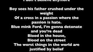 U2 - Raised By Wolves LYRICS