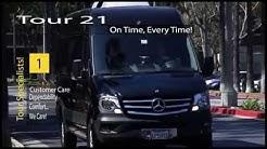 (Mercedes Sprinter Rental Van) Small Tour Bus Rental - 15 Passenger Sprinter - Los Angeles