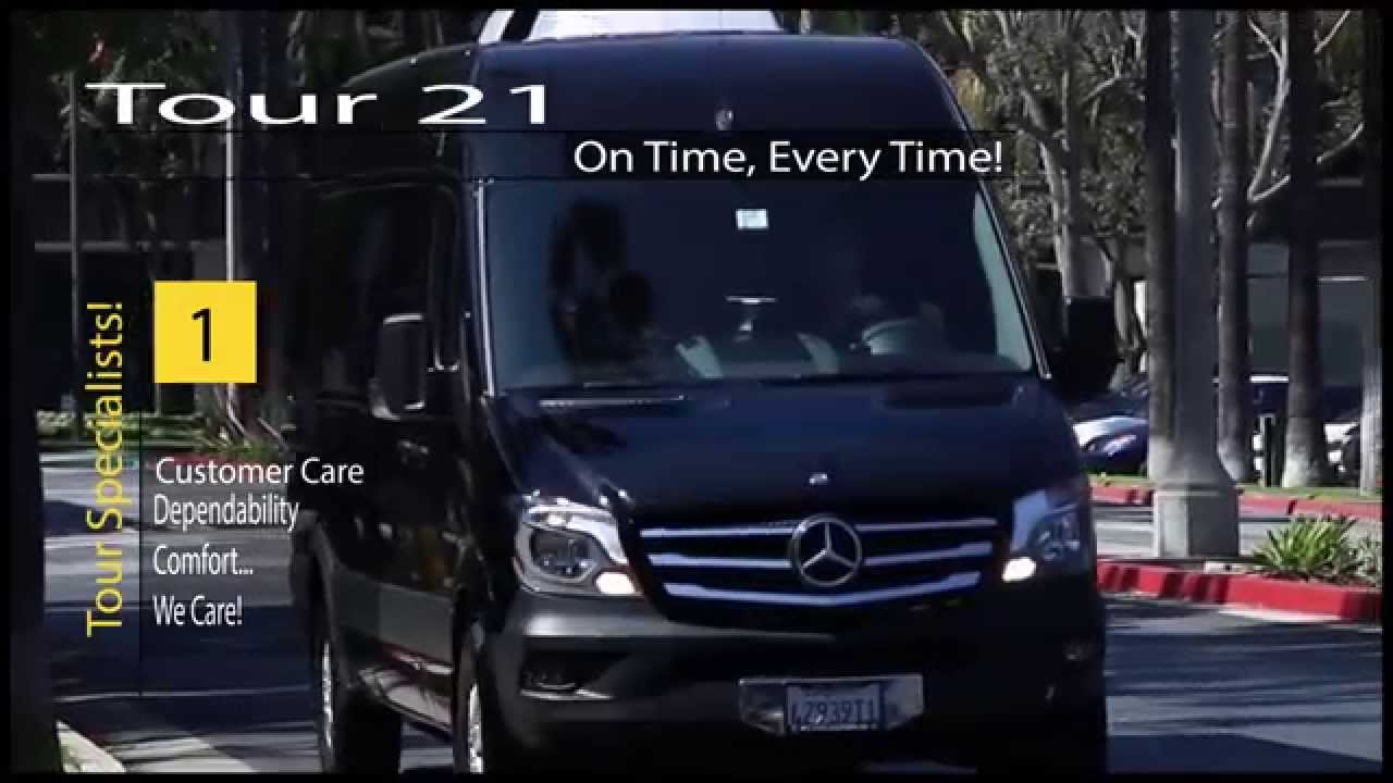 Mercedes Sprinter Rental Van Small Tour Bus