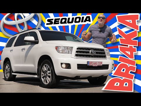 Toyota Sequoia | XK60 | 2GEN |Test and Review | Bri4ka.com