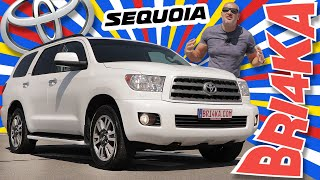 Toyota Sequoia | XK60 | 2GEN |Test and Review | Bri4ka.com