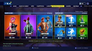 BOUTIQUE FORTNITE DU 16 AVRIL 2019 - FORTNITE ITEM SHOP 16 AVRIL 2019 NEW SKIN !!