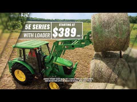 John Deere 5E Series Utility Tractor | Everglades Equipment Group