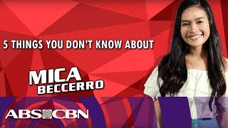 Kapamilya 5 Things: Mica Baccero from Team Lea