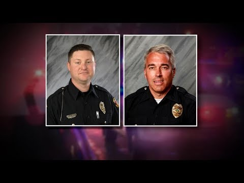 2 officers shot dead after responding to 911 call