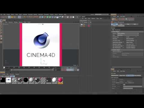 CINEMA 4D to After Effects Basic: Part 1/3 (~25mins)