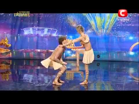 """Tiết mục nhảy độc đáo của chương trình """"Tìm kiếm tài năng Ukraine"""""""