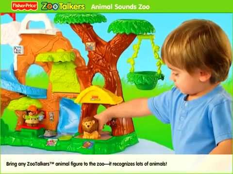Fisher Price Little People Zoo Talkers Animal Sou
