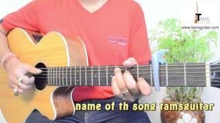 Ab na ja (Euphoria) guitar lesson | www.tamsguitar.com