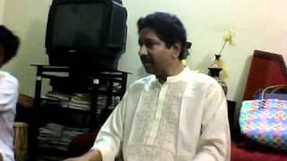 Pt Anil Kumar Saha - teaching student- Gorgeous aakaar taan