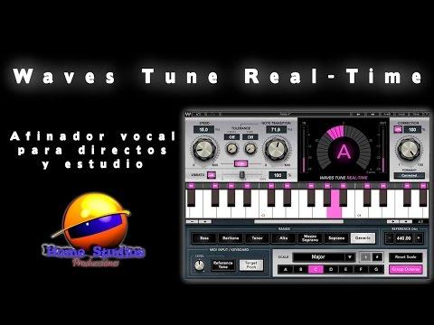 Waves Tune Real Time - Afinador vocal para directos y estudio