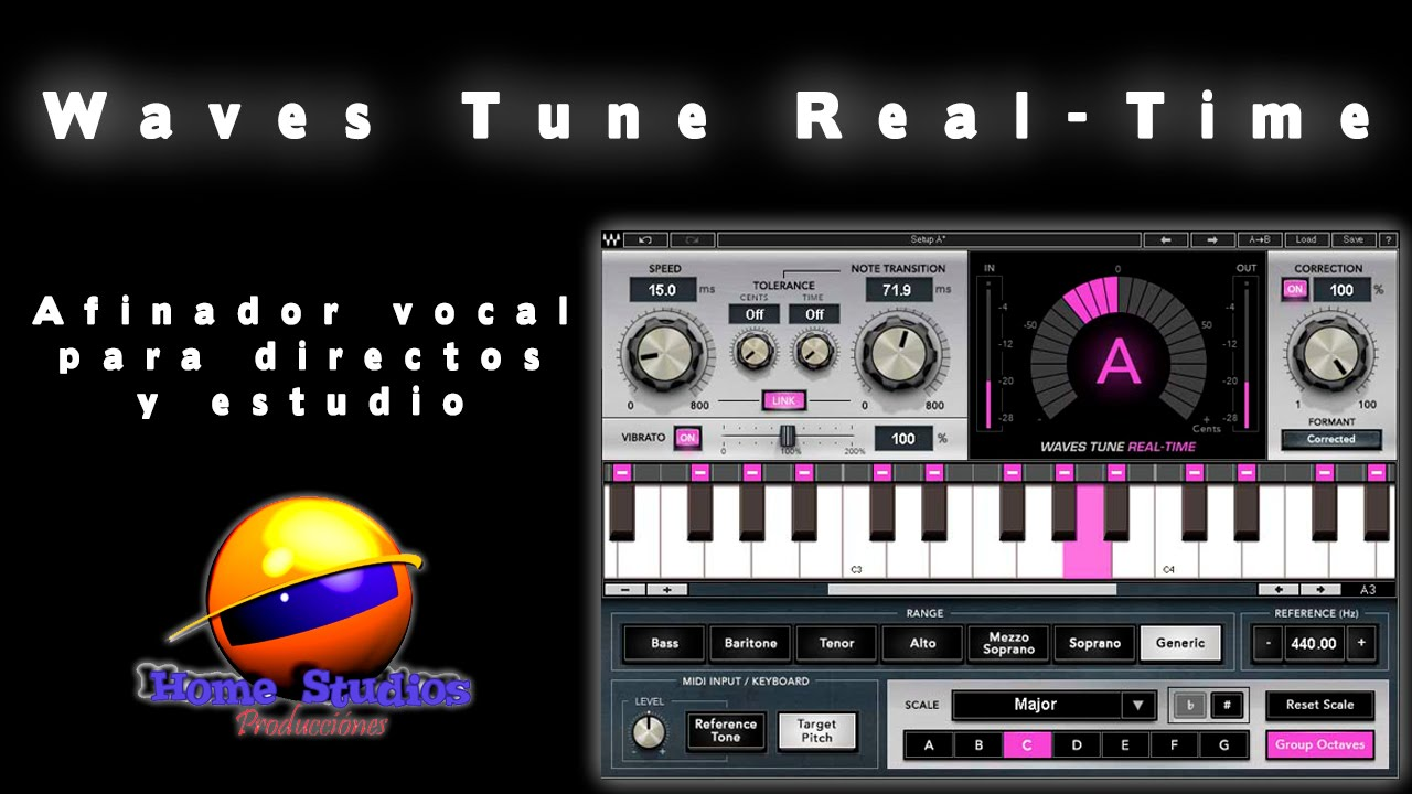 waves tune real time afinador vocal para directos y estudio youtube. Black Bedroom Furniture Sets. Home Design Ideas