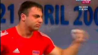 2008 EWC 85 Kg Snatch Highlights.wmv