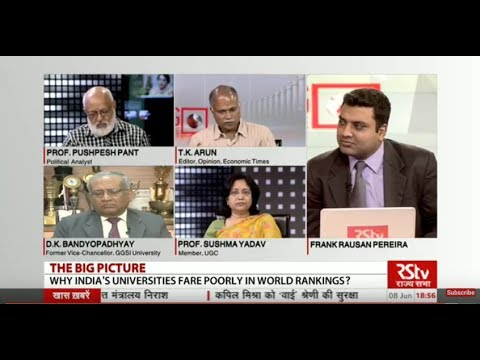 The Big Picture - Why Indian Universities Continue to Fare Poorly in Global Rankings?