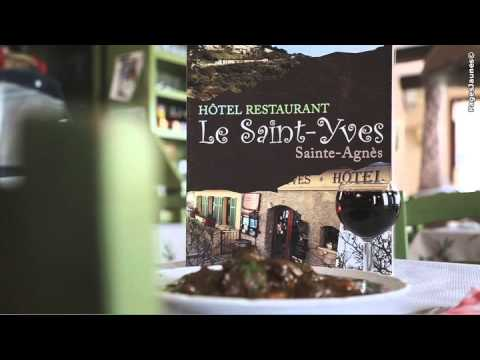 Restaurant Sainte Agnes  Le Saint Yves