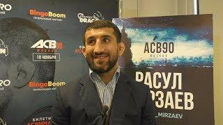 Расул Мирзаев: Не разговаривать со мной – это выбор Багаутдинова, с моей стороны негатива нет