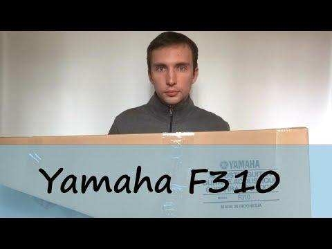 Распаковка и обзор гитары Yamaha F310