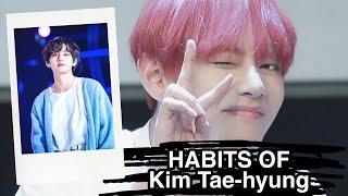 Kim Tae-hyungന്റെ ശീലങ്ങൾ , HABITS OF V BTS MALAYALAM