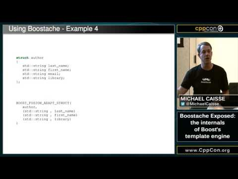 "CppCon 2015: Michael Caisse ""Boostache Exposed : the internals of Boost"