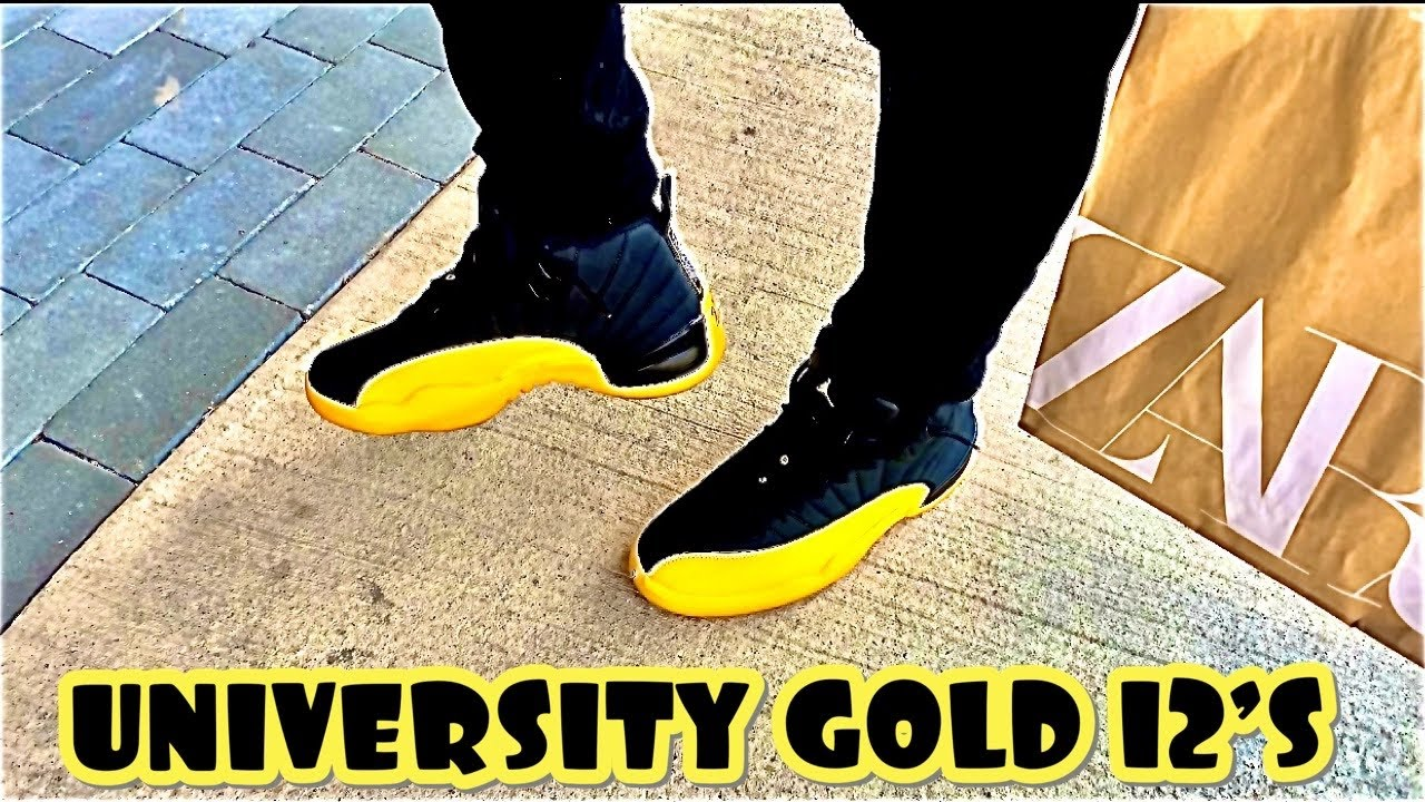 STYLING THE UNIVERSITY GOLD 12'S IS NOT HARD TO DO, ON  FEET🦶 /OOTD