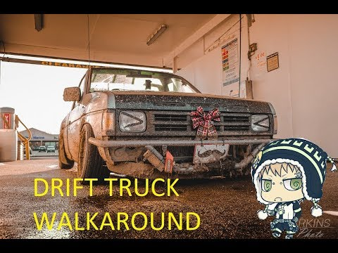 My Nissan Hardbody 2017 Drift Setup Walkaround